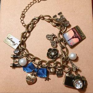 CUTE Paris Charm Bracelet